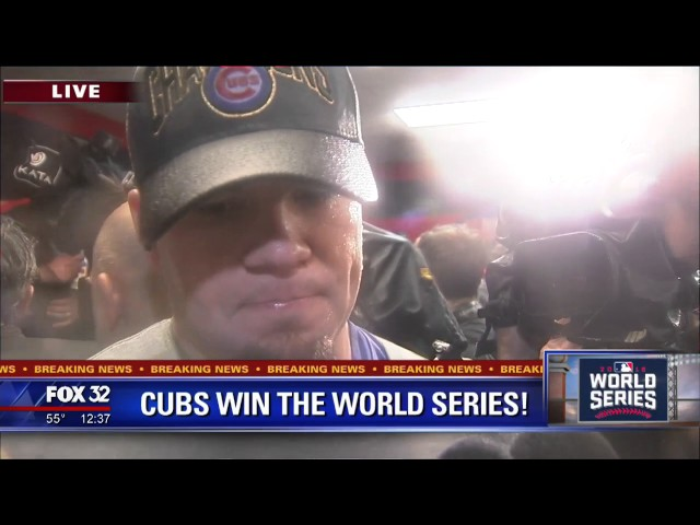 'Never thought I had a shot' Schwarber says on World Series return