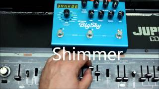 Big Sky Jupiter (Strymon Big Sky Demo with Roland Jupiter 4 Synth)