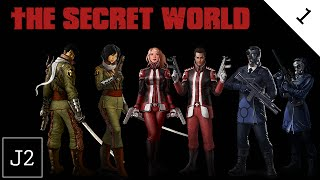 The Secret World Dragon Campaign Gameplay - Prologue And Character Creation - Part 1