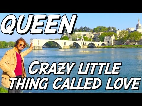 QUEEN - Crazy little thing called love + SOLO (Tuto à Avignon)