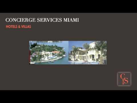 Concierge Services Miami Hotels & Villas