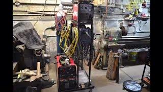 Welding cart build