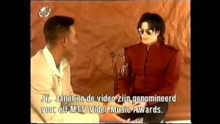 MJ CHANGES HISTORY Rare Interview 1995 Part 1