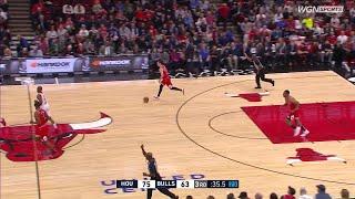 3rd Quarter, One Box Video: Chicago Bulls vs. Houston Rockets
