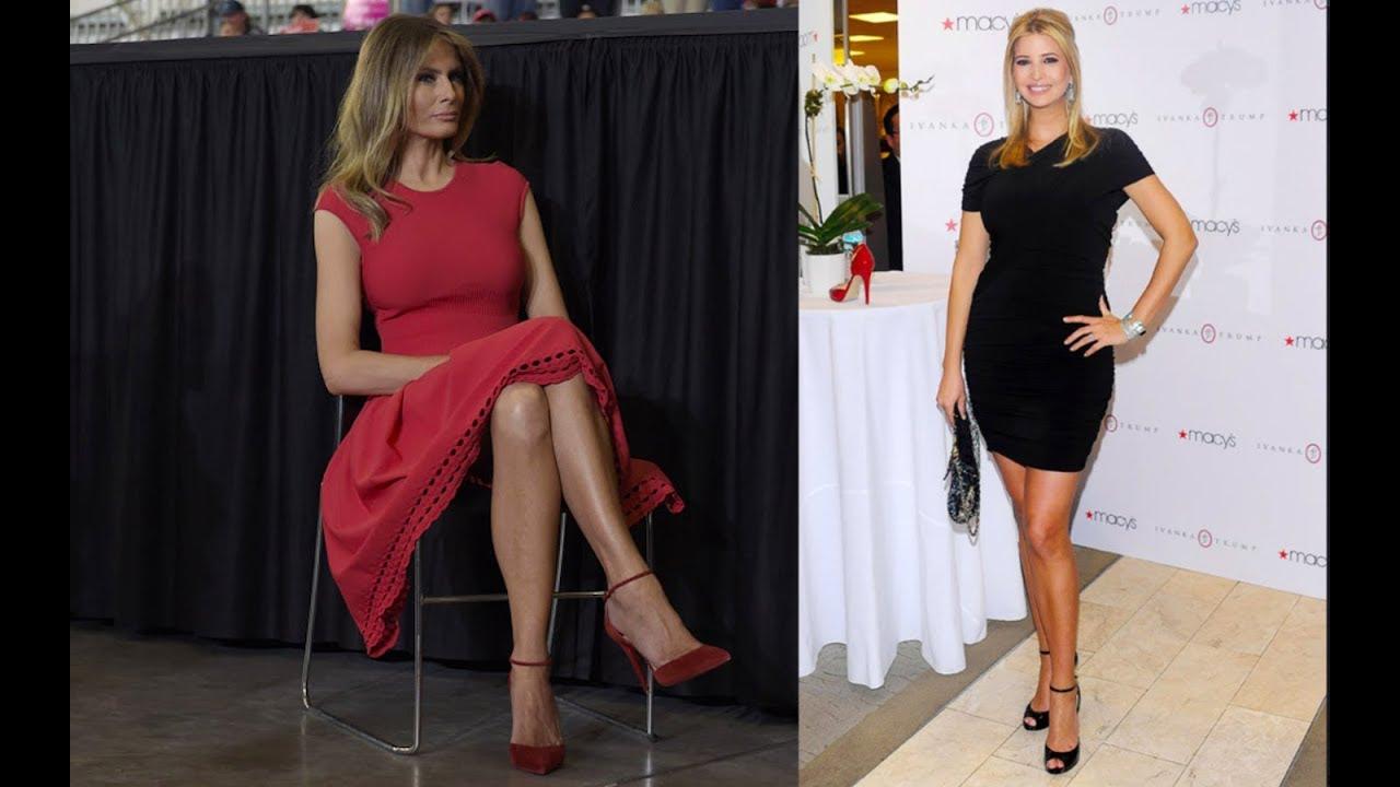 a0d27088b844 Melania Trump and Ivanka Shamed for Wearing High Heels 8 14 17 - YouTube