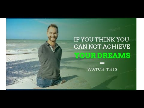 IF YOU THINK YOU CAN NOT ACHIEVE YOUR DREAM, WATCH THIS.