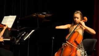 Gli Uccelli trio perform J.Turina - Circulo op.91 (Amanecer)