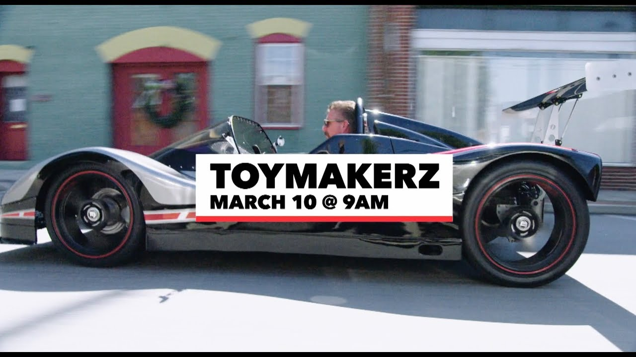 Toymakerz History Channel TV Show | TV Series Motorsports