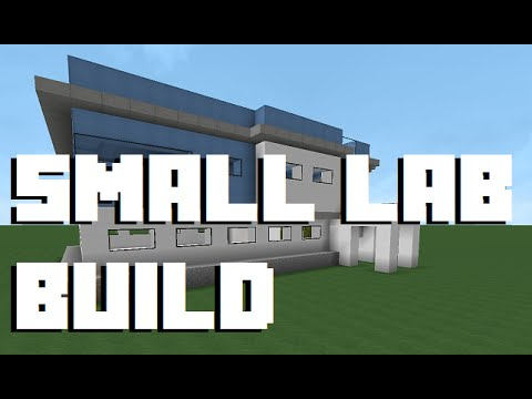 Minecraft Let S Build Small Lab 1 Youtube