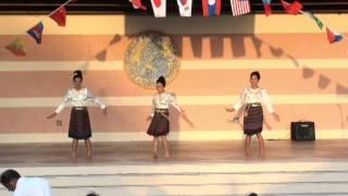 Thai Cultural Dance 3  - Asian Cultural Festival 2013