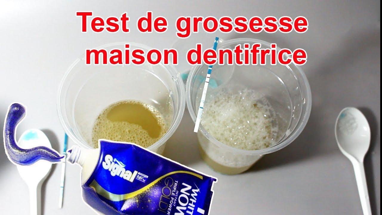Étonnant : le dentifrice comme test de grossesse ? - YouTube