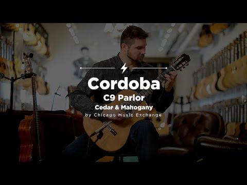 Quick Riffs: Cordoba C9 Parlor Cedar & Mahogany Guitar Demo
