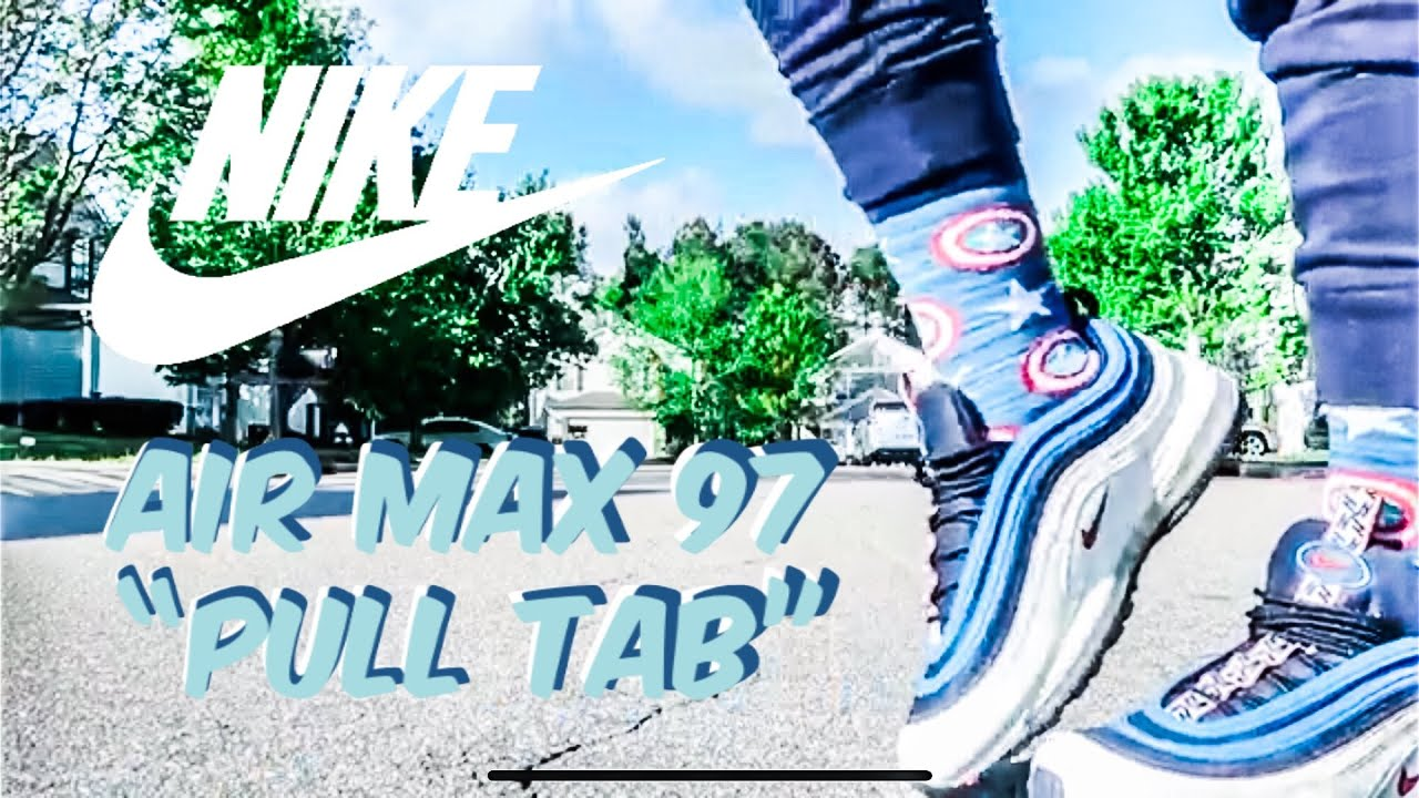 Nike Air Max 97 Pull Tab Obsidian White
