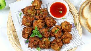 চটজলদি মেহমানদারীতে- মুচমুচে পাউরুটির পাকোড়া | Crispy Bread Pakora | Pakora Recipe Bangla
