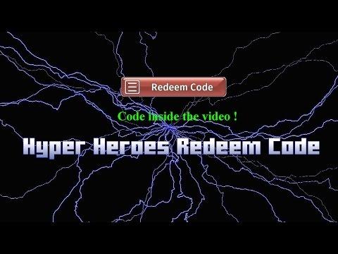 Hyper Heroes Redeem Code