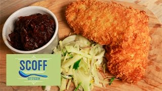 Pork Schnitzel With Caramalized Onion And Apple Chutney | Winter Warmers S3e5/8