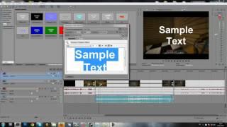 Как ускорить видео и наложить текст Vegas Pro 10.mp4 обучение