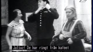 Hemliga Svensson(1933) Edvard Persson, Fridolf Rhudin  m.fl.