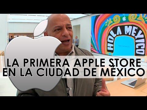 Conoce la primera tienda Apple en México