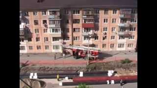 порятунок дітей на пожежі з багатоповерхівки Тюмень
