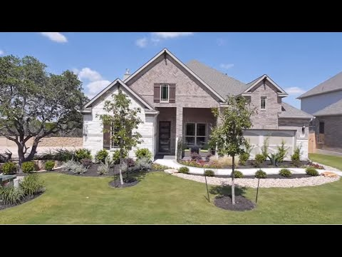 The Tulane Floor Plan Model Home Tour - Gehan Homes - YouTube on