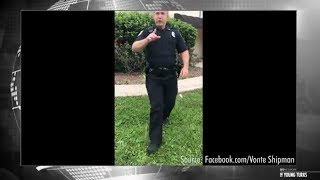 Video of a Florida cop citing an imaginary law while threatening a ...
