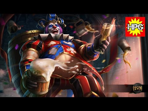 HoN Pro Drunken Master Gameplay - Dim`Aha - Rank Legendary