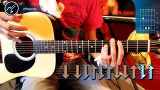 """Cómo tocar """"Rape Me"""" de Nirvana en Guitarra Acústica- (HD) Tutorial - Christianvib"""