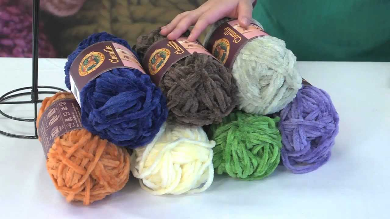 Get to Know Chenille Yarn - YouTube