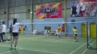 2013 Banking Academy Open(fake)-QF-MD-Ngoc Lan Nguyen/Nga vs Ngoc Trung Tran/Bi Thumbnail