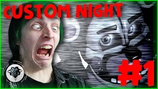 FNAF SL CUSTOM NIGHT (VERY HARD) #1| STOP LAUGHING AT ME! | DAGames