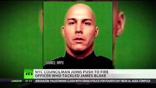 NYC councilman seeks firing of officer involved in James Blake arrest