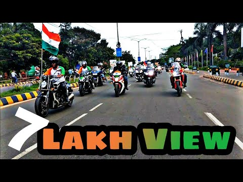 Independence Day Ride In Bhubaneswar Of Super Bikes