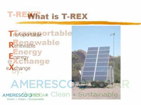 Ameresco Solar Mobil Hybrid Power Unit.wmv
