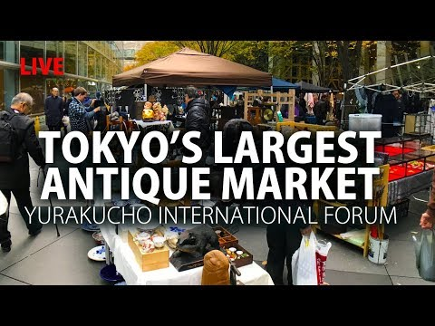 Tokyo's Largest Antique Market & Shopping Experience