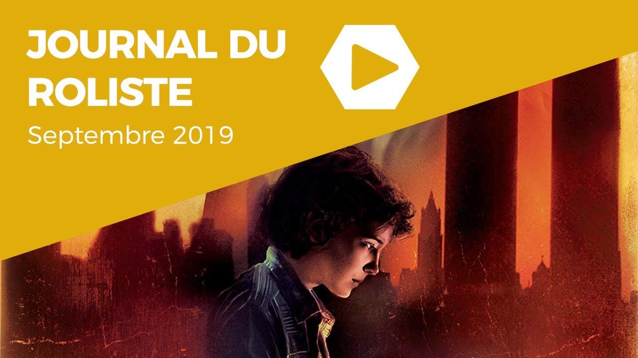 Journal du Rôliste - Septembre 2019
