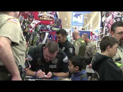 'Shop With A Cop' 2014 Highlights