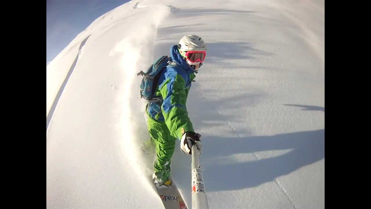 Cool Snowboarding Gopro Hd Hero Video New Youtube