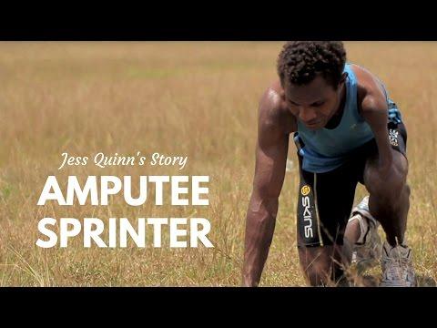 Amputee Sprinter