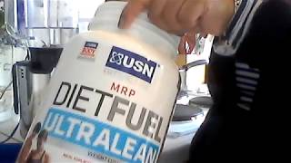 How To Use USN Protein Shake- Weight Loss- Chocolate Cream!