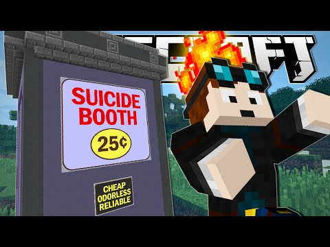 Thumbnail: Minecraft | DUMB WAYS TO DIE!! (The Suicide Booth)