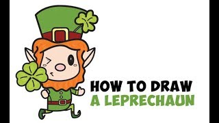How to Draw a Leprechaun for St. Patrick