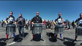 Rhythm X-WGI 2018 snareline sectional (360 view!)