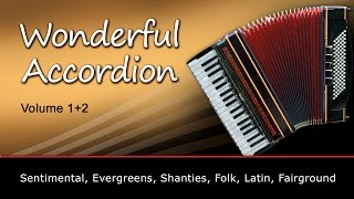 Wonderful Accordion 1+2 - Authentische Registrationen für Yamaha Keyboards