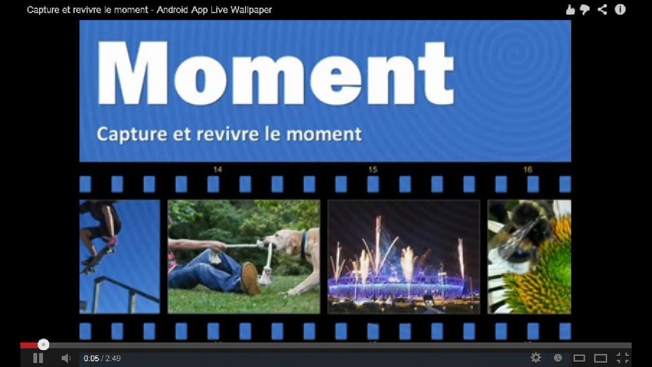 Créer votre propre fond d'écran interactif en direct de la vidéo! - Android - YouTube