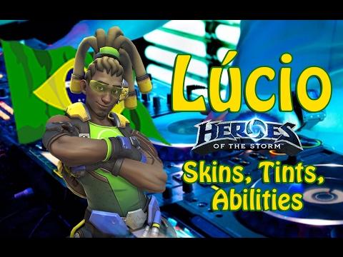 Lucio! New Hero - Skins, Tints, Abilities, POKE JOKES