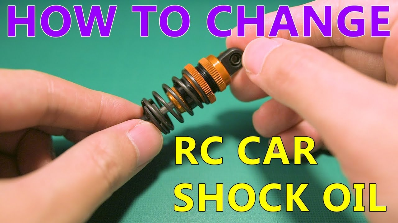 Changing RC touring car shock oil - complete guide