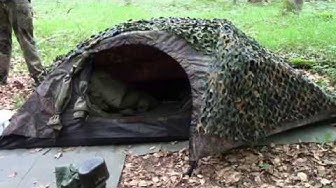Camping mit Stealth und Waldzeit