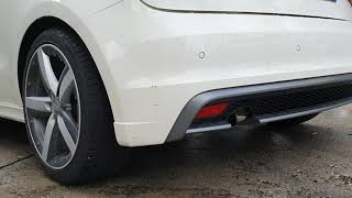 Audi A1 1.6 tdi Exhaust Sound BigTurbo