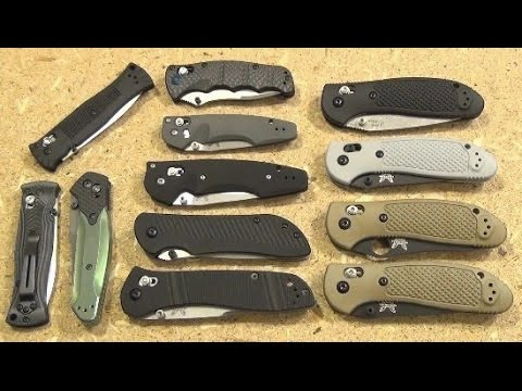 Benchmade Folding Knife Collection